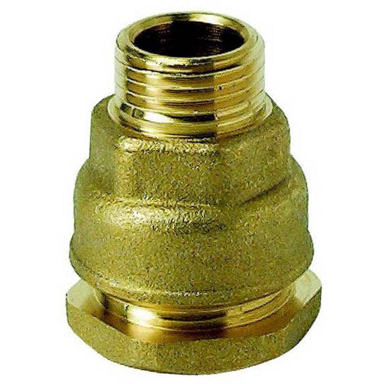 1 raccord droit en laiton visser 19x25 pour tuyau souple leroy merlin - Tuyau polyethylene 25 leroy merlin ...