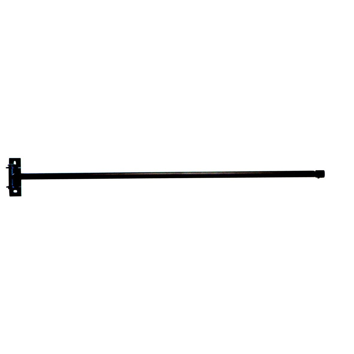 Barre de lucarne city noir mat de 60 110 cm ib leroy for Tringle pour fenetre de toit