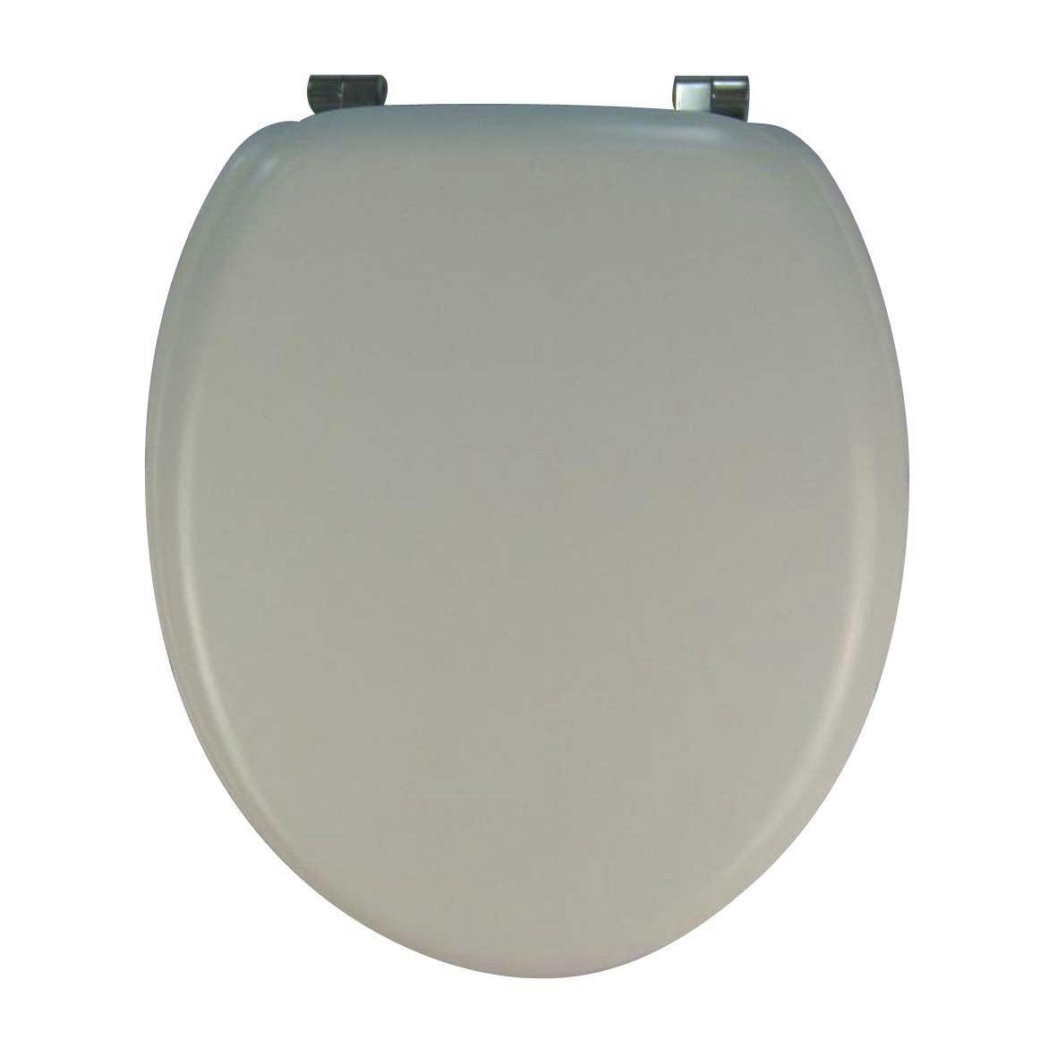 Abattant wc sensea mateo blanc leroy merlin - Accessoires wc leroy merlin ...