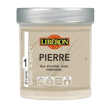 Peinture effet pierre liberon ciment 0 5 l leroy merlin for Produits liberon
