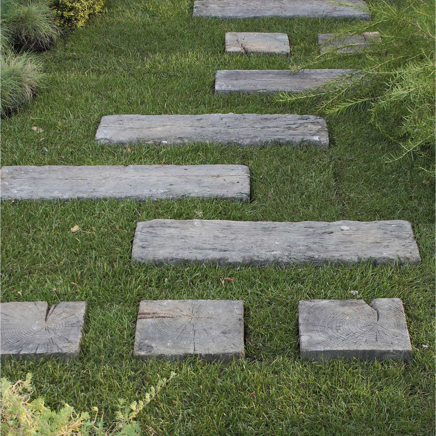 Traverse pierre reconstitu e imitation bois stonewood for Leroy merlin carrelage imitation bois