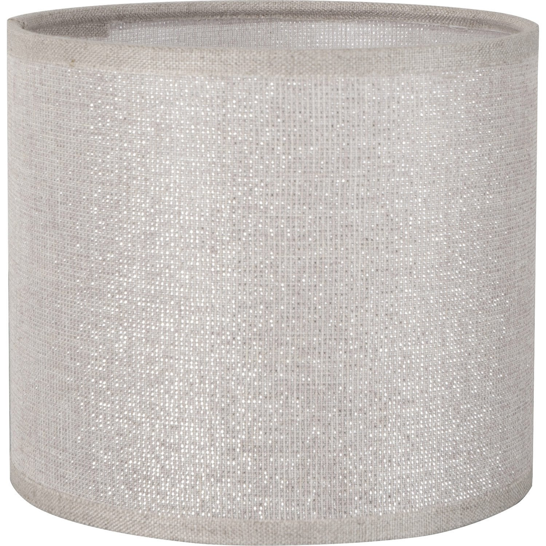 abat jour tube diam 30 cm coton shine leroy merlin. Black Bedroom Furniture Sets. Home Design Ideas
