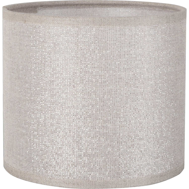 Abat jour tube 25 cm coton shine leroy merlin - Abat jour suspension leroy merlin ...