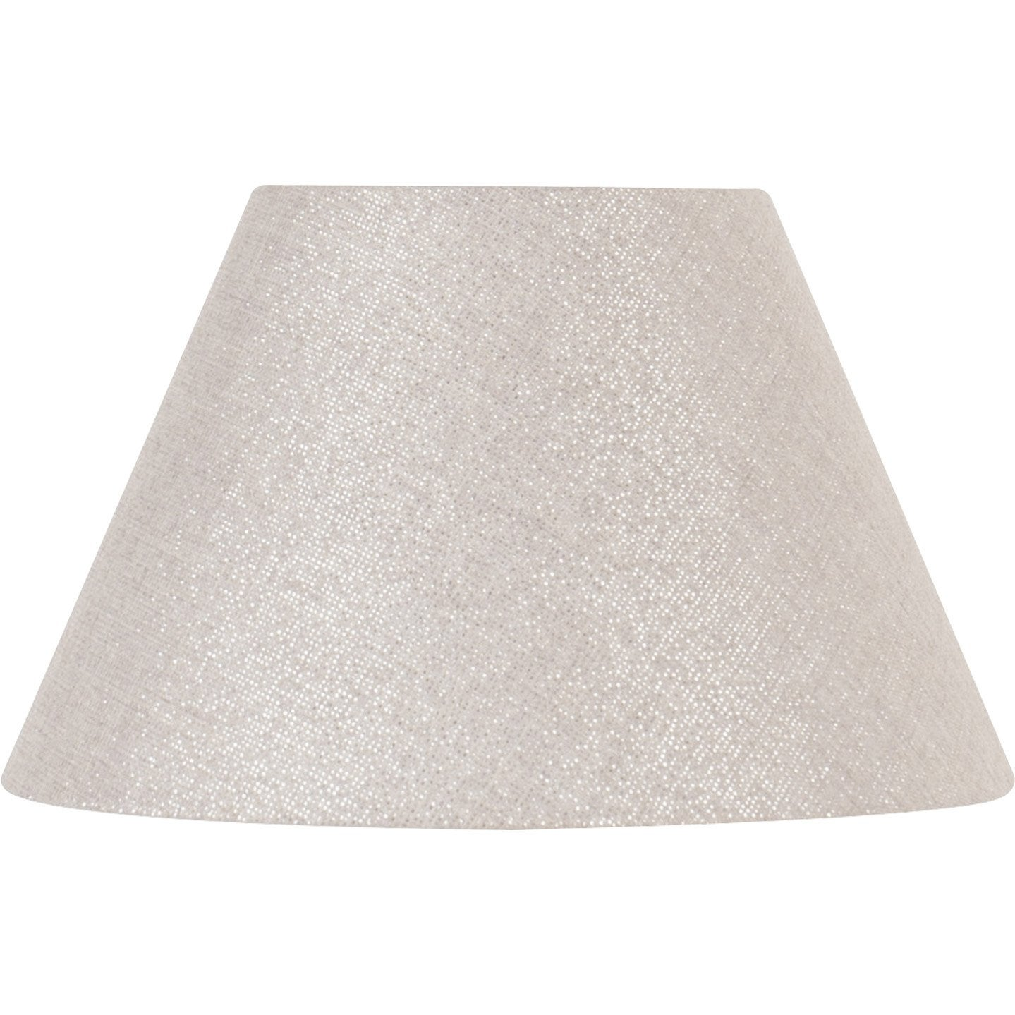 abat jour sweet 30 cm coton shine leroy merlin. Black Bedroom Furniture Sets. Home Design Ideas