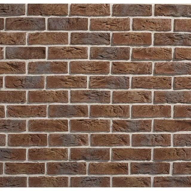 Plaquette de parement brique flamm e b ton country 640 mm leroy merlin - Plaque beton leroy merlin ...