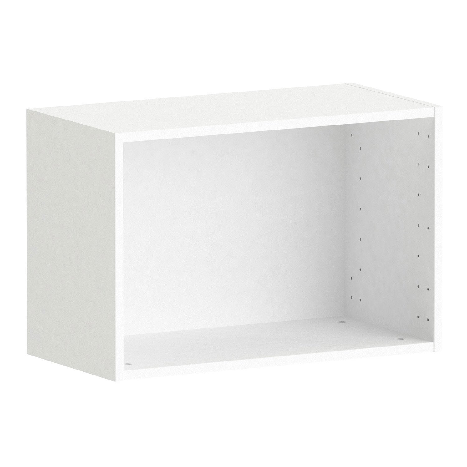 caisson spaceo home 40 x 60 x 30 cm blanc leroy merlin