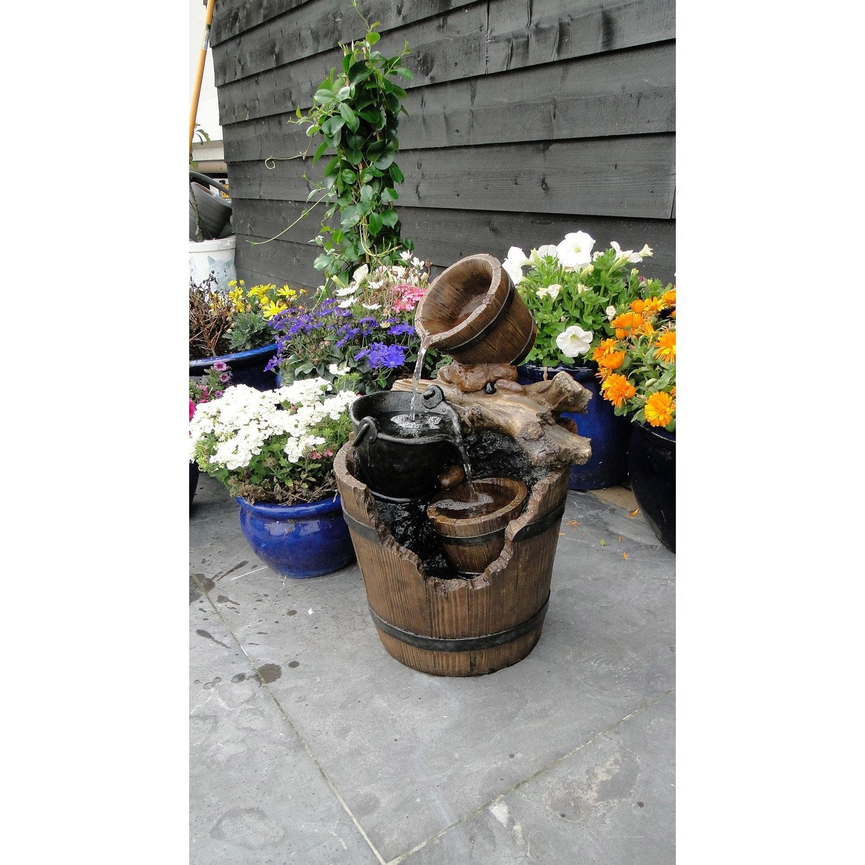 Kit fontaine ubbink portland leroy merlin for Fontaine pour jardin leroy merlin