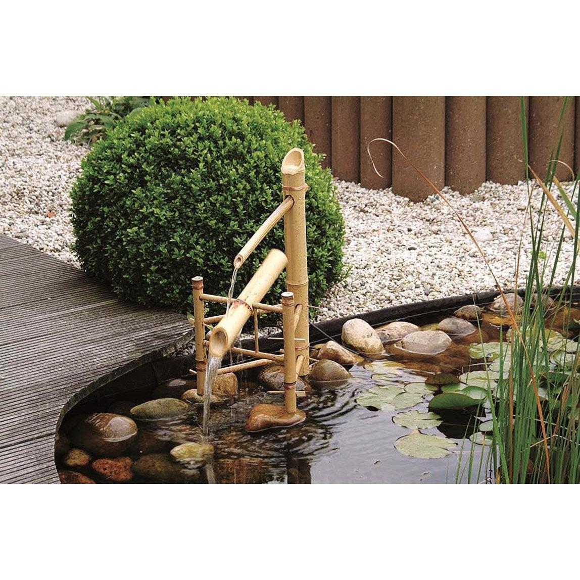 Cascade ubbink bamboo beige cm leroy merlin - Meubilair bassin leroy merlin ...