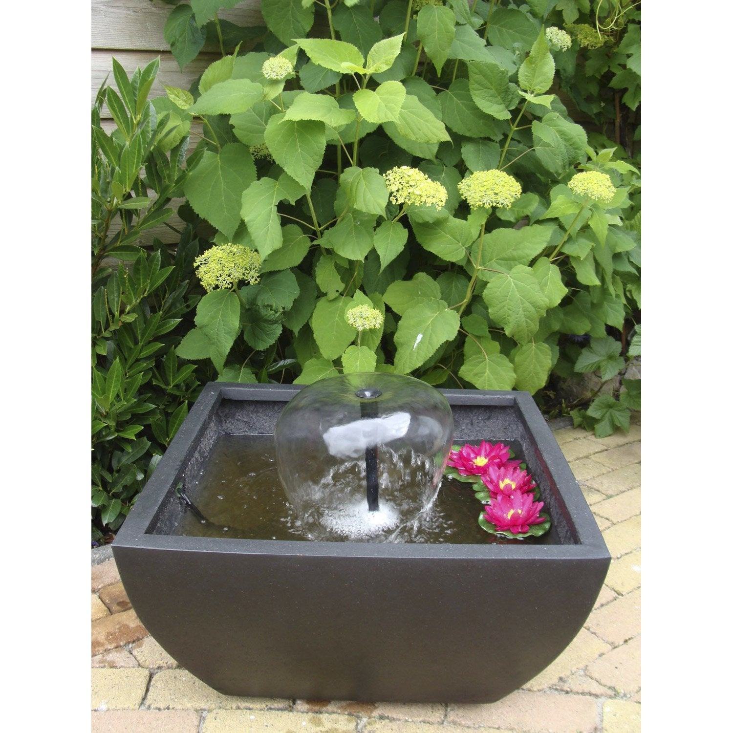 Kit bassin ubbink terrasse 4 leroy merlin for Bassin aquatique pour terrasse