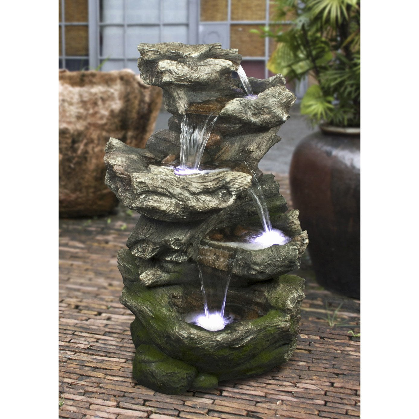 Kit fontaine ubbink norfolk leroy merlin for Fontaine de jardin niagara
