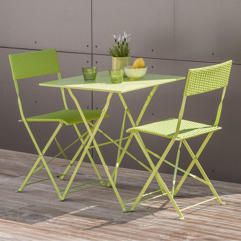 table et chaise de jardin pas cher avec leroy merlin brico depot. Black Bedroom Furniture Sets. Home Design Ideas