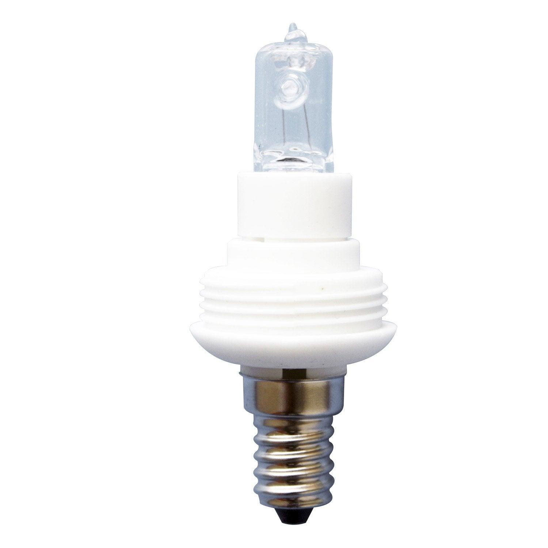 Ampoule Halog Ne 46w Lexman E14 Lumi Re Chaude Env 2700k Leroy Merlin