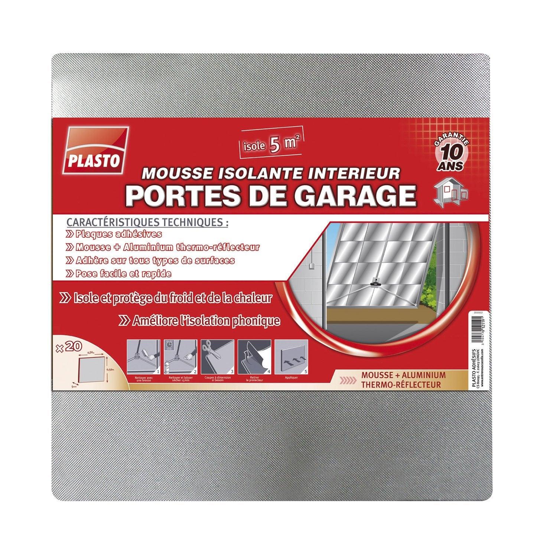 Bas de porte adh sif plasto long 50 cm aluminium - Bas de porte leroy merlin ...