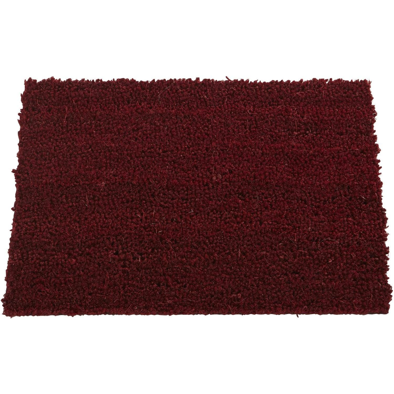 Paillasson coco la coupe rouge largeur 1 m leroy merlin - Verre a la coupe leroy merlin ...