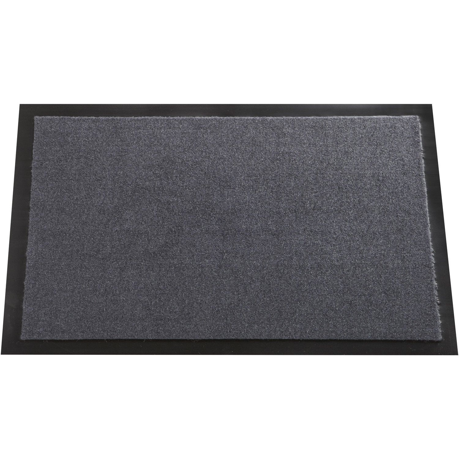 tapis antipoussi re mood gris galet n 1 60 x 40 cm leroy merlin. Black Bedroom Furniture Sets. Home Design Ideas