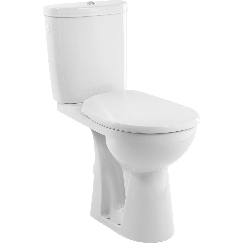 WC à poser sortie horizontale, SENSEA Remix surélevé  Leroy Merlin