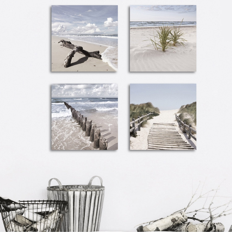 verre imprim bois et plage deco glass x cm leroy merlin. Black Bedroom Furniture Sets. Home Design Ideas