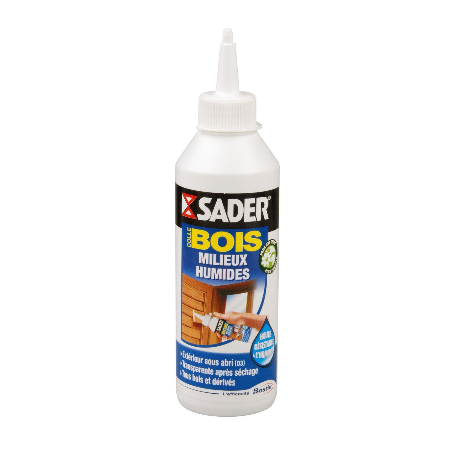 Colle bois ext rieur sp ciale mat riaux sader 250g for Colle carrelage exterieur leroy merlin