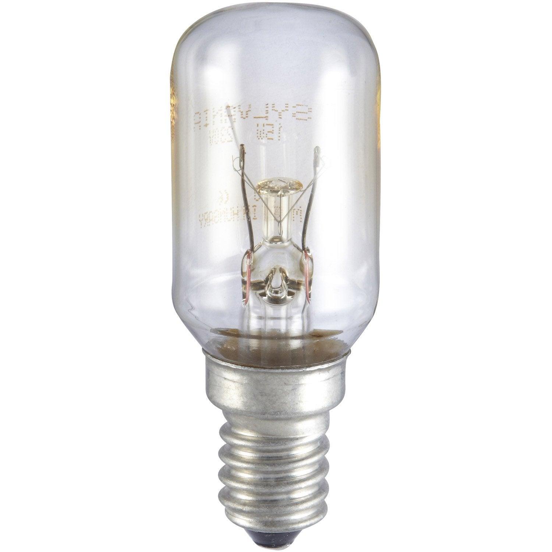 Ampoule Incandescente 15w Sylvania E 14 Lumi Re Chaude Env 2700k Leroy Merlin