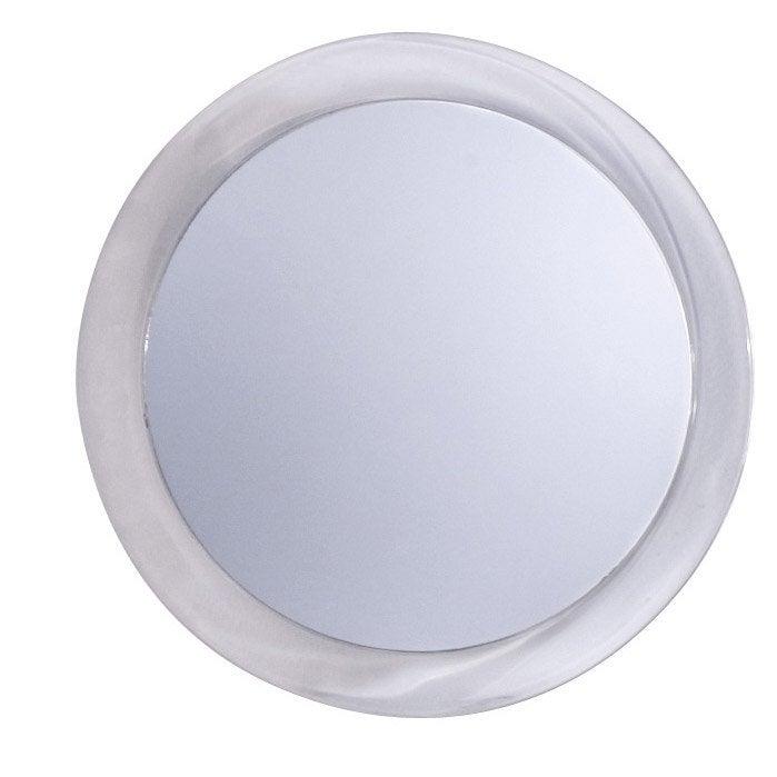 Miroir grossissant ventouse 15 x 15 cm leroy merlin - Miroir a coller leroy merlin ...
