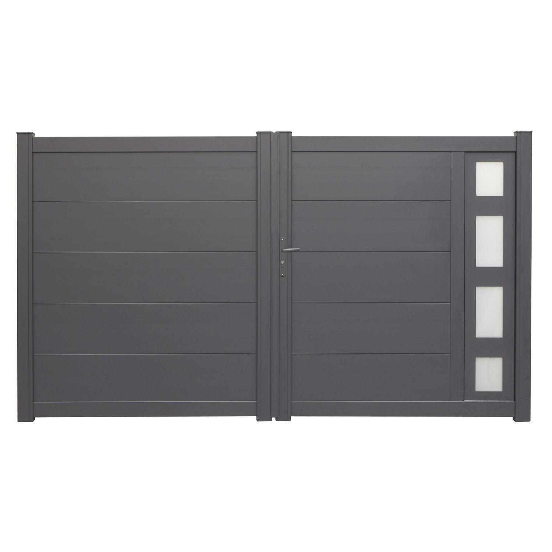 portail battant aluminium austin naterial 300x170. Black Bedroom Furniture Sets. Home Design Ideas