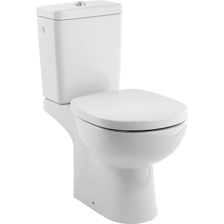 Pack wc poser ideal standard idealsoft sans bride sortie - Accessoires wc leroy merlin ...