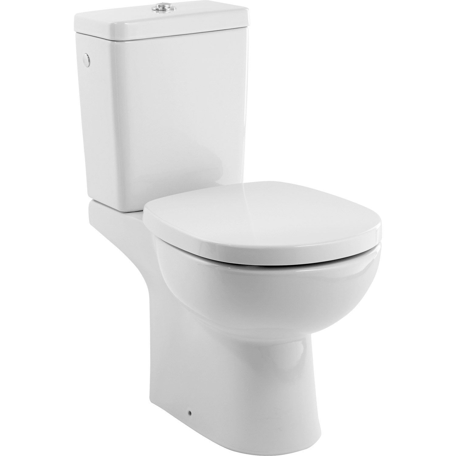 Pack wc poser sortie verticale ideal standard idealsoft for Petit toilette leroy merlin
