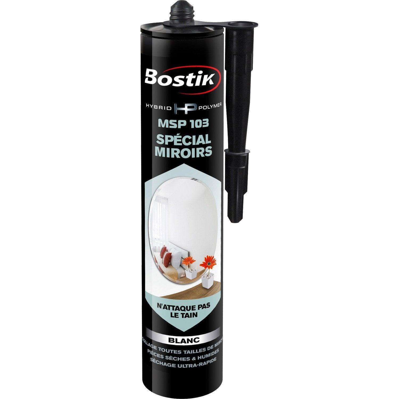 Colle mastic hybrid polymer msp 103 bostik 290ml leroy merlin - Colle miroir leroy merlin ...