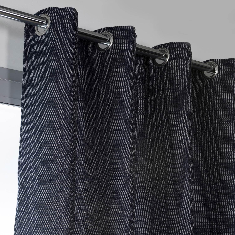 rideau tamisant cooper bleu marine x cm leroy merlin. Black Bedroom Furniture Sets. Home Design Ideas