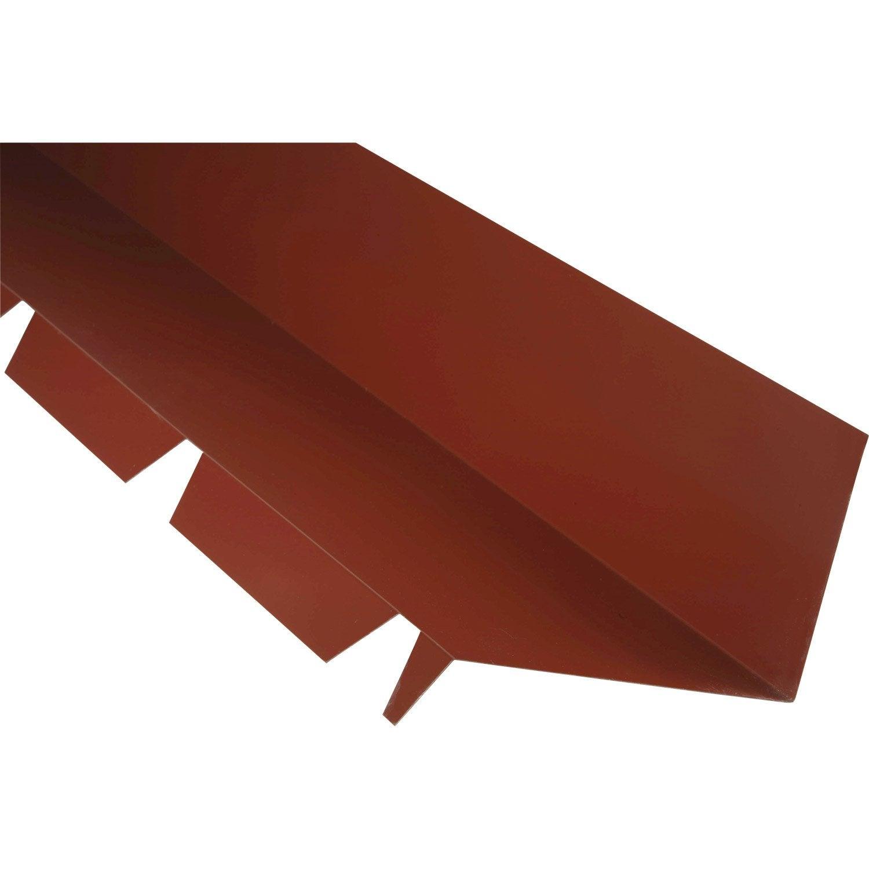 Fa ti re contre mur pour plaque acier 63 100 long for Plaque acier leroy merlin