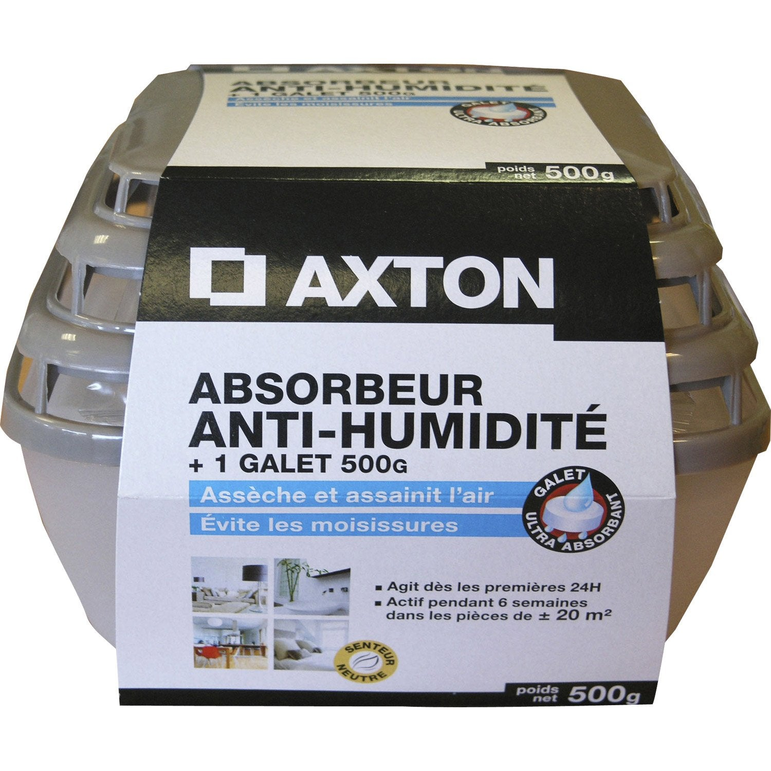 Absorbeur d 39 humidit galet axton leroy merlin - Absorbeur humidite maison ...