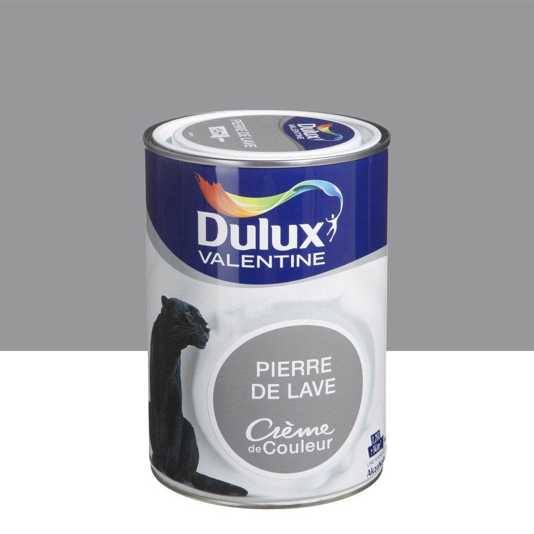 Peinture brun pierre de lave dulux valentine cr me de couleur l leroy merlin - Pierre de lave barbecue leroy merlin ...