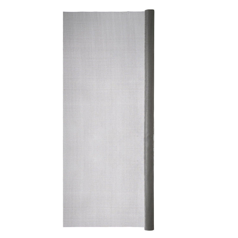 moustiquaire fibre de verre h 1 4 x l 2 m leroy merlin. Black Bedroom Furniture Sets. Home Design Ideas