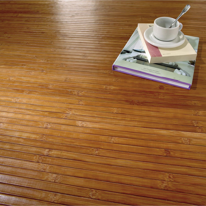 bambou blond verni marron l 2 m leroy merlin. Black Bedroom Furniture Sets. Home Design Ideas