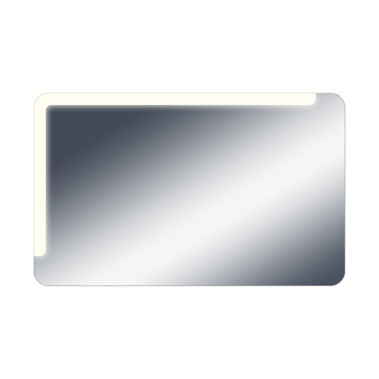 Miroir lumineux avec clairage int gr x cm neo shine leroy merlin - Miroir avec bandeau lumineux ...