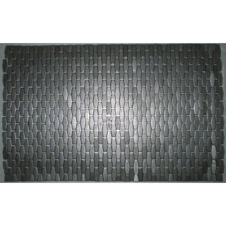 caillebotis flex noir 50 x 75 cm leroy merlin. Black Bedroom Furniture Sets. Home Design Ideas