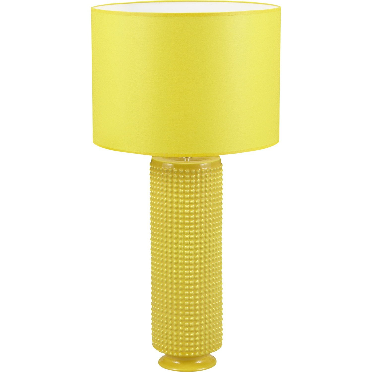 lampe katus coton jaune 60 w leroy merlin. Black Bedroom Furniture Sets. Home Design Ideas