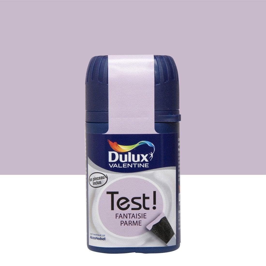 Testeur peinture fantaisie parme dulux valentine crème de couleur ...