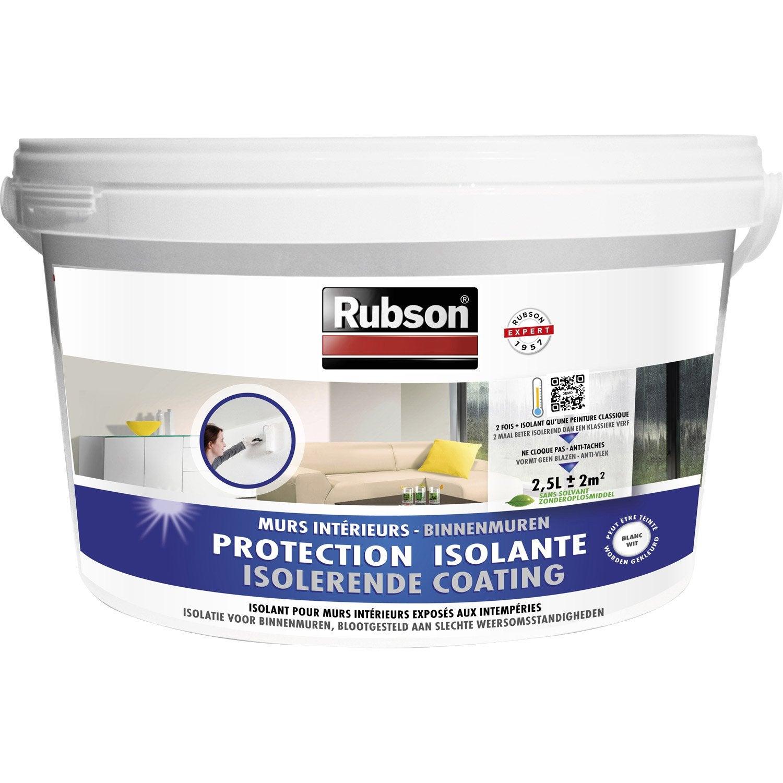 Peinture anticondensation stop condensation rubson blanc 2 5 l leroy merlin - Peinture anti condensation ...