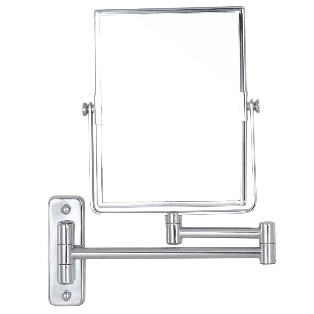 Miroir grossissant x 3 rectangulaire fixer x l for Miroir grossissant x 20