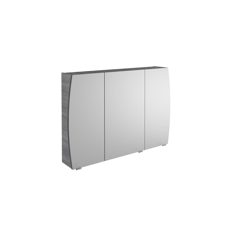 Armoire de toilette cm gris structur image leroy merlin - Armoire toilette leroy merlin ...