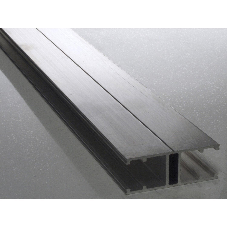 Profil jonction pour plaque 16mm long 4m leroy merlin - Tole aluminium leroy merlin ...