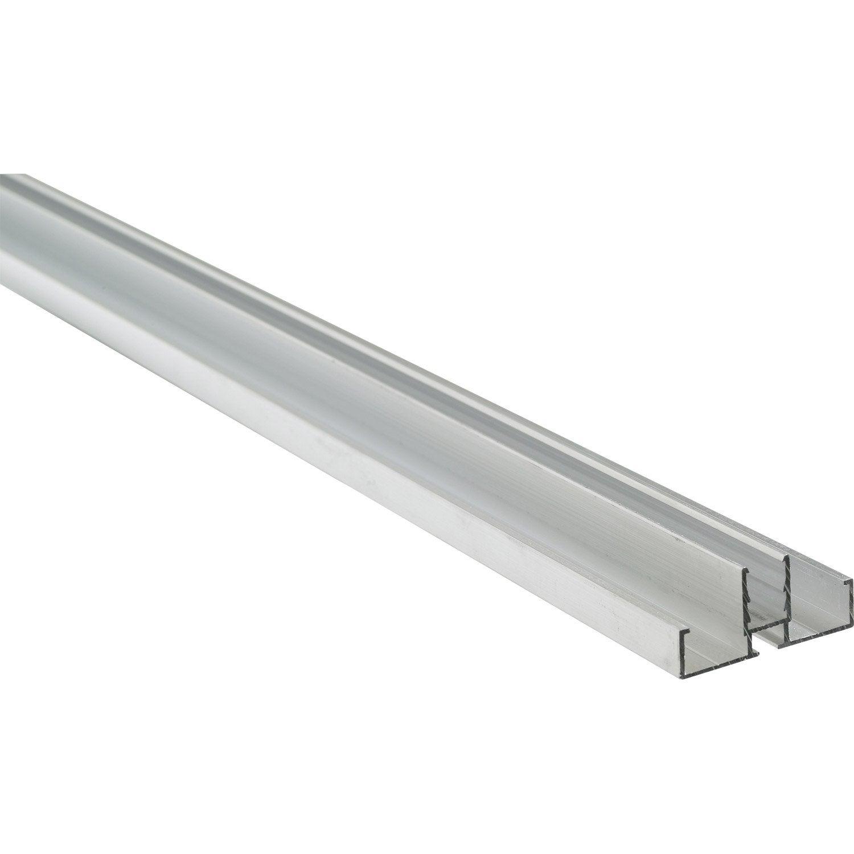 profil bordure clip pour plaque 16mm long 4m leroy merlin. Black Bedroom Furniture Sets. Home Design Ideas