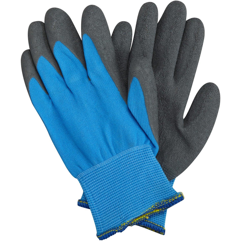 gants geolia bleu taille 6 8 ans leroy merlin. Black Bedroom Furniture Sets. Home Design Ideas