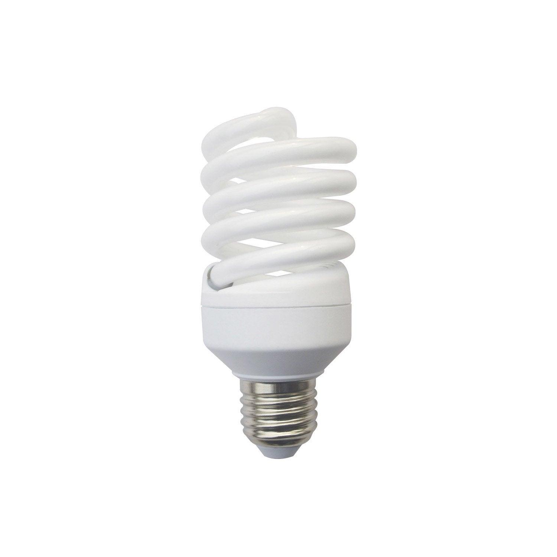 ampoule spirale fluorescente 23w 1398lm quiv 100w e27. Black Bedroom Furniture Sets. Home Design Ideas