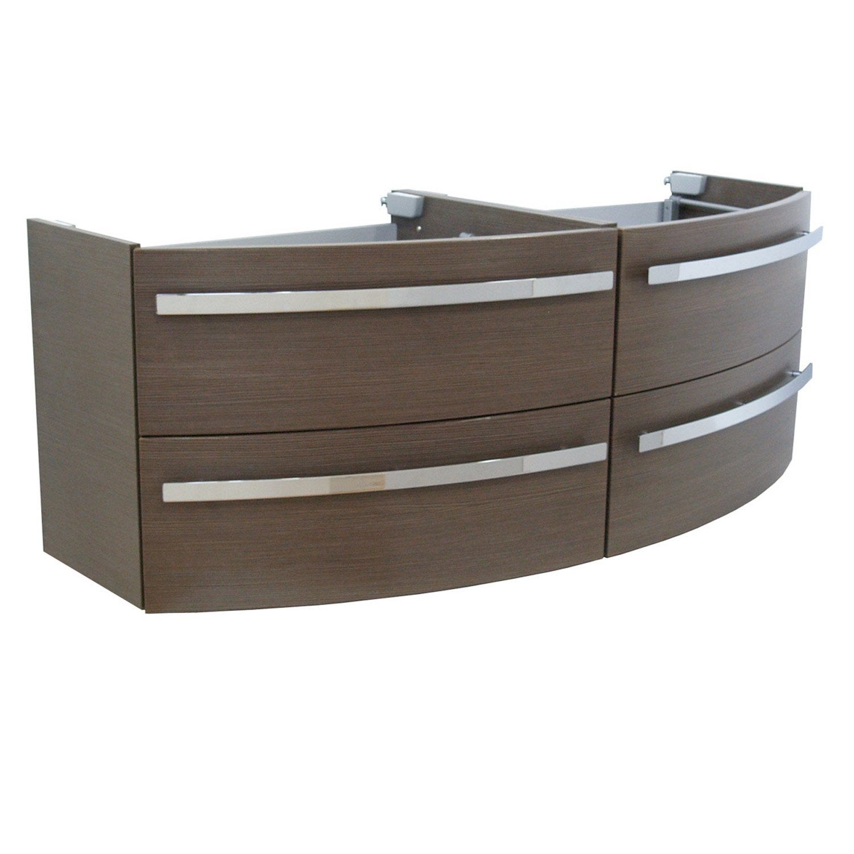 meuble sous vasque x x cm marron image leroy merlin. Black Bedroom Furniture Sets. Home Design Ideas