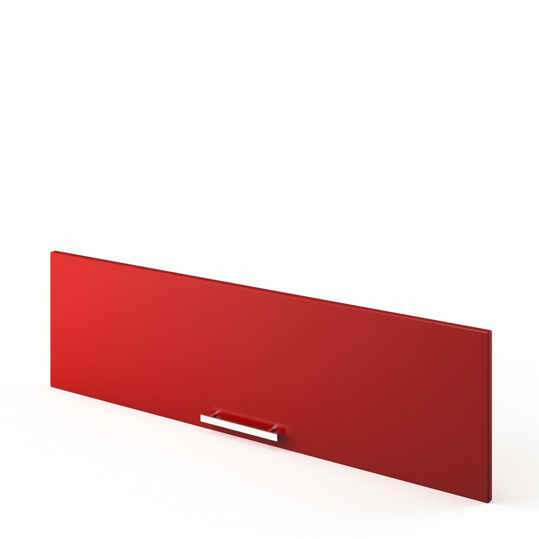 Porte de cuisine rouge d lice x cm leroy merlin - Leroy merlin porte cuisine ...