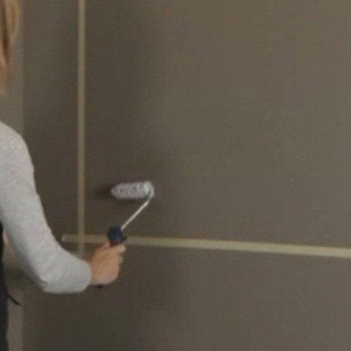 Comment appliquer une peinture cr ative craie feutre - Peinture magnetique leroy merlin ...