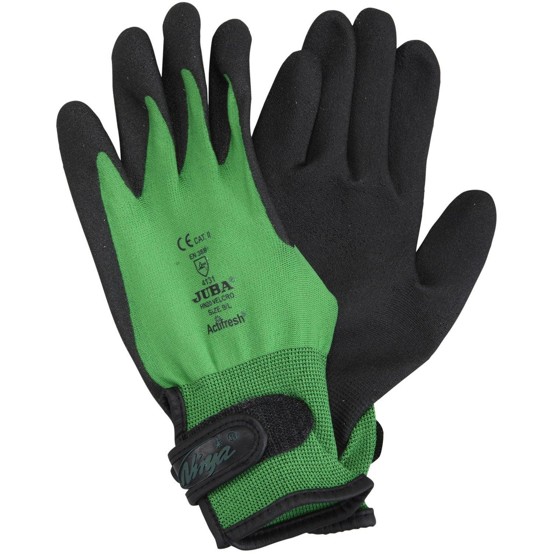 gants de manutention gros travaux vert taille 9 l. Black Bedroom Furniture Sets. Home Design Ideas