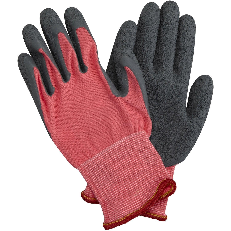 gants geolia rose taille 4 6 ans leroy merlin. Black Bedroom Furniture Sets. Home Design Ideas